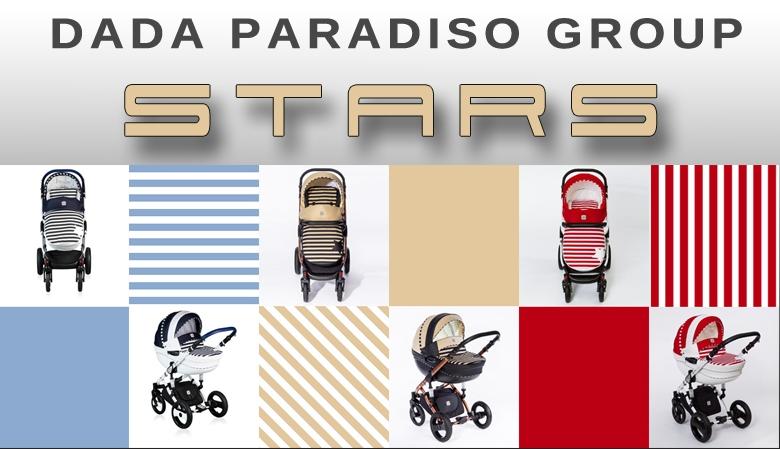 Wózek dziecięcy wielofunkcyjny - Stars