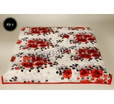 Koc Elway 160x210 - maki czerwone