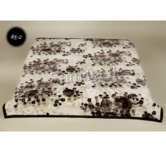 Blanket Elway 160x210 - maki czarne