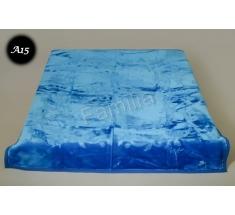 Koc Elway 160x210 - niebieski wytłaczany A15