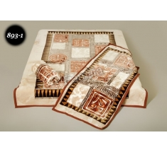 Komplet narzut na łóżko i dwa fotele Elway - egipski 893-1