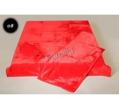 Komplet narzut na łóżko i dwa fotele Elway - czerwony 08