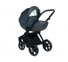 Wózek Dada Paradiso LUXOR GRAPHITE - 4w1 (gondola + spacerówka + fotelik samochodowy + baza)