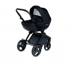 Wózek Dada Paradiso BLACK CODE - 4w1 (gondola + spacerówka + fotelik samochodowy + baza)