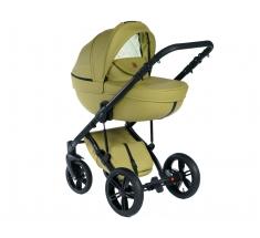 Wózek Dada Paradiso Max 500 SPRING GREEN - 4w1 (gondola + spacerówka + fotelik samochodowy + baza)