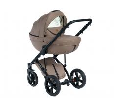 Wózek Dada Paradiso Max 500 NATURAL BEIGE - 3w1 (gondola + spacerówka + fotelik z adapterem)