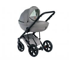Wózek Dada Paradiso Max 500 LIGHT GREY - 3w1 (gondola + spacerówka + fotelik z adapterem)