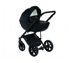 Wózek Dada Paradiso Max 500 RED PURE BLACK - 4w1 (gondola + spacerówka + fotelik samochodowy + baza)