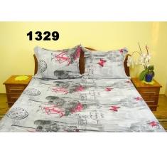 Pościel z kory 160x200 - 100% bawełna (1329) - wysyłka 24h