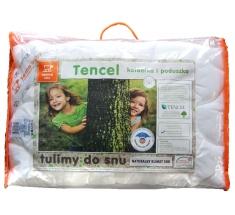 Komplet TENCEL Kołdra dla dziecka 100x135 + Poduszka 40x60 INTER-WIDEX