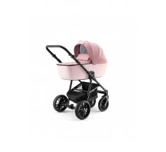 Wózek Dada Paradiso APUS Pink - 4w1 (gondola + spacerówka + fotelik samochodowy + baza)