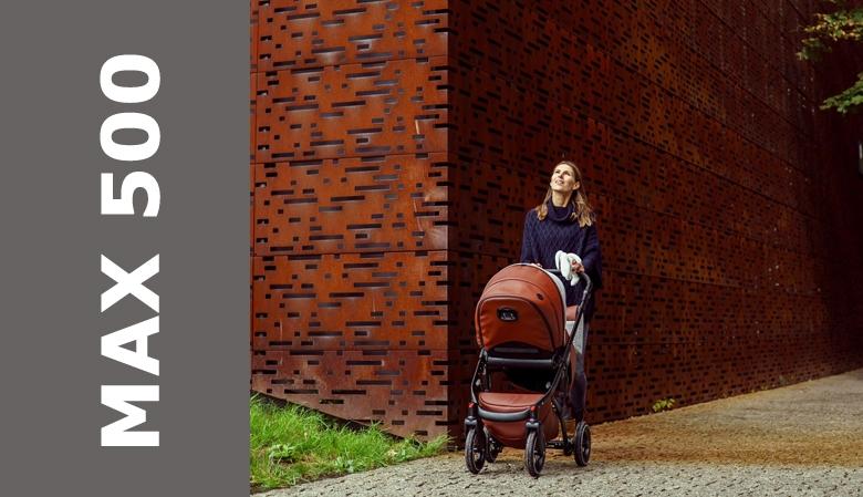 Wózek DADA PARADISO MAX500 Chocolate